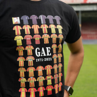 T-shirt zwart GAE