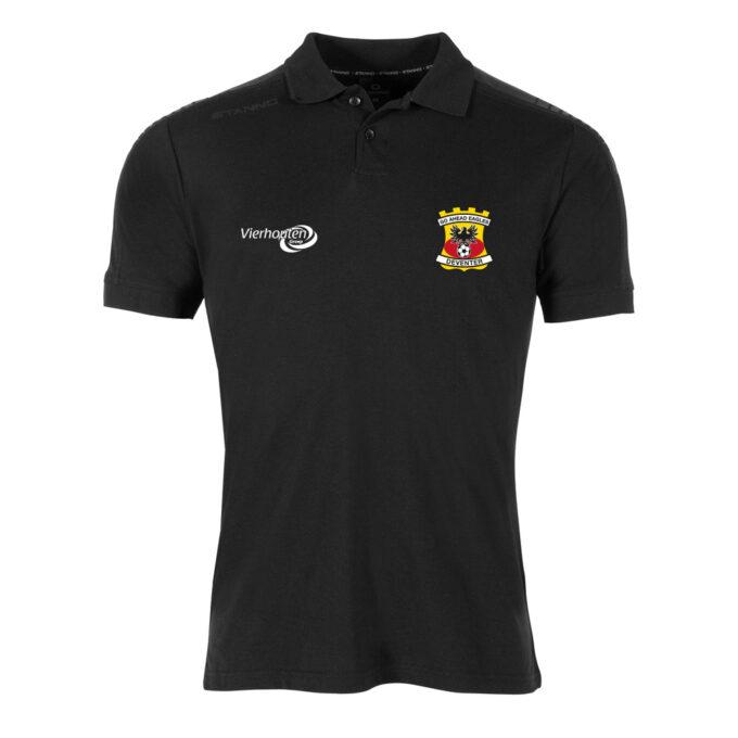 Go Ahead Eagles Zwarte Trainingspolo